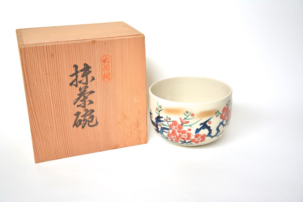 Kutani-Keramik Chawan