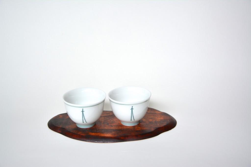 Teeschale Mino-yaki