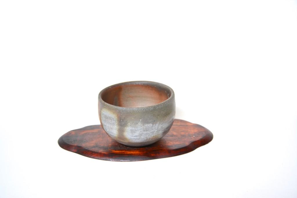 Bizen-Keramik Teebecher